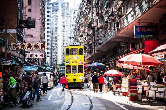 홍콩의 밤거리, 360도 VR로 본다