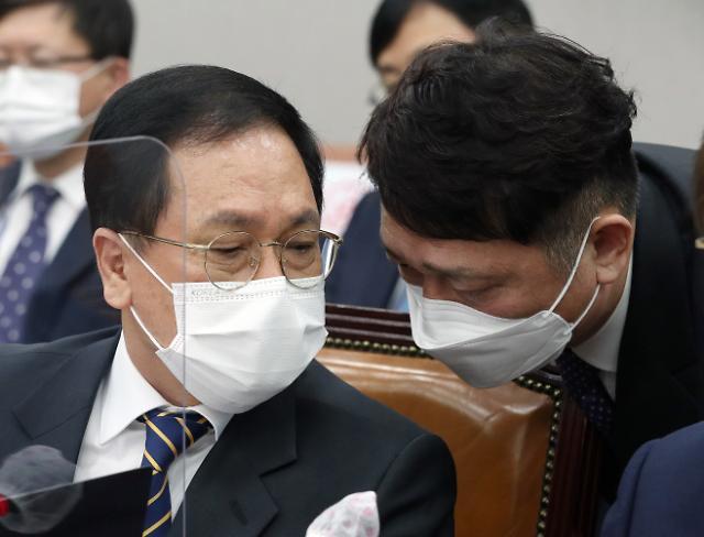 """유영민 """"감사원 원전 감사, 정부 정책 전반으로…상당히 유감"""""""