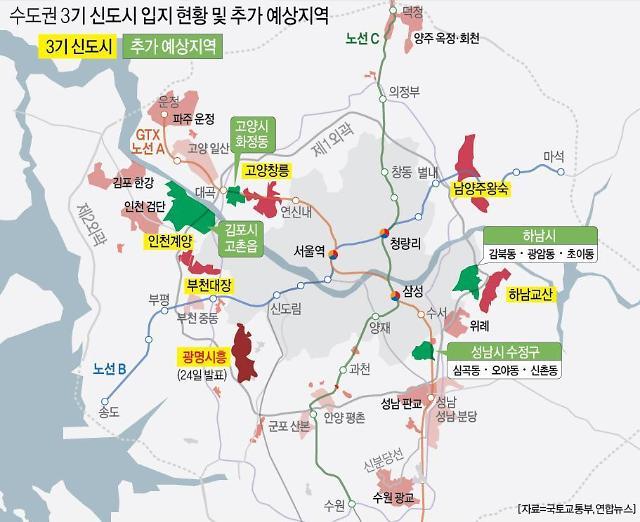 다음 신규 택지 어디? 고양화정·김포고촌·하남초이 등 물망