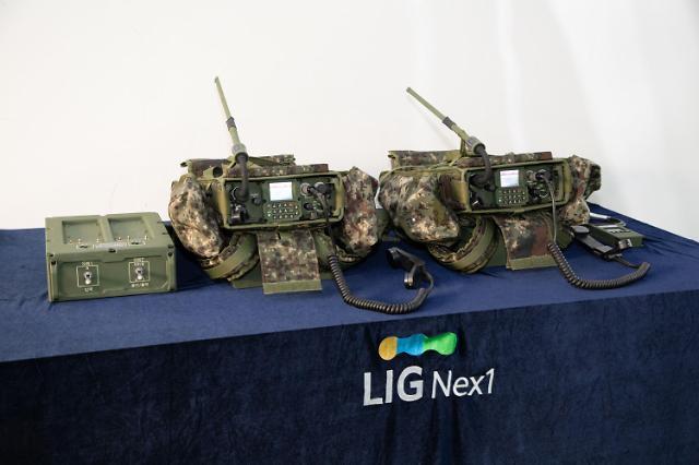 PRC-999K 시대 저문다... LIG넥스원, 차세대 군용 무전기 양산 돌입