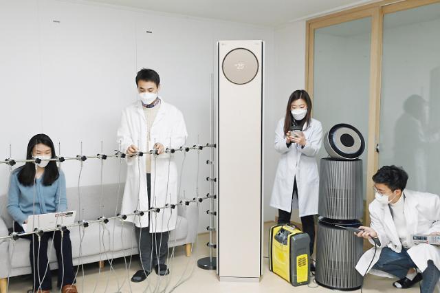 """""""LG전자 기술력 믿는다""""…공기과학연구소, 공식 시험기관 인정"""
