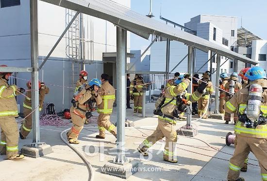 안산소방, 고층건물 화재진압 훈련·맞춤형 소방안전교육 등 실시