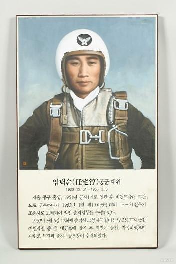 3월 6·25전쟁영웅 임택순 공군대위…北진지 육탄공격후 산화