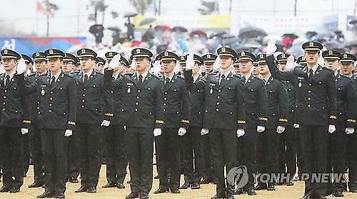 육·해·공군·해병대 학군장교 3739명 소위 임관...코로나에 통합임관식