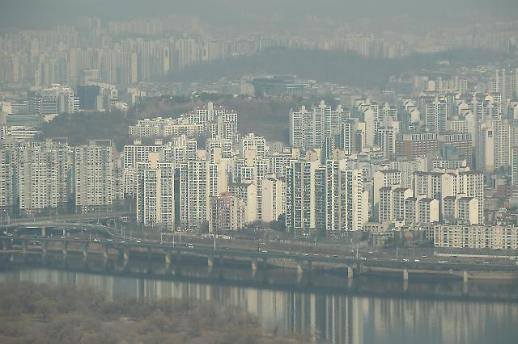 首尔公寓住宅交易量出现断崖式下滑 待售公寓十天间增长近9%