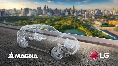 .LG Electronics joint venture with Canadas Magna awaits approval by shareholders in March.