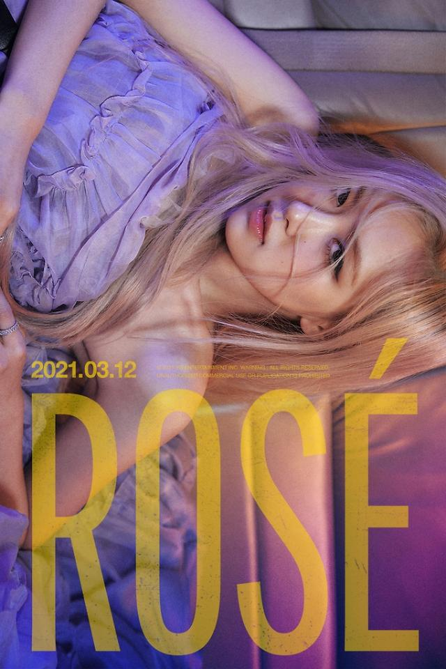 BLACKPINK member Rosé to release solo album in March