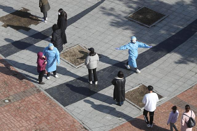 韩国新增444例新冠确诊病例 累计90816例