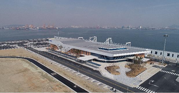 韩国最大邮轮码头投入运营两年 遭遇疫情只接待4艘邮轮