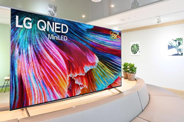"""超高能效迷你LED电视""""LG QNED""""将于下月正式上市"""