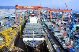 .Aramco partners with Hyundai shipbuilder to develop business model using hydrogen and ammonia .
