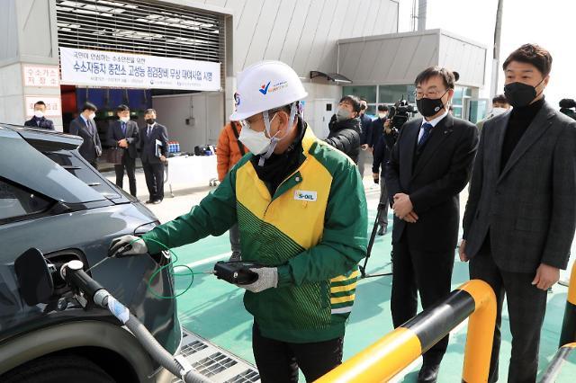 가스 안전 공사, 수소 충전소 검사 장비 무상 대여를 통한 안전 ↑