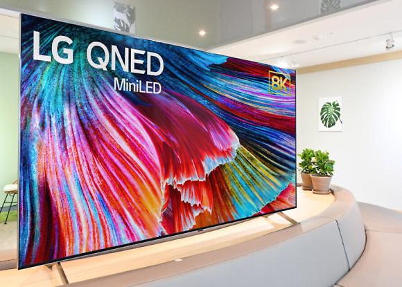 LG電子のミニLED TV「QNED」、4月にベール脱ぐ