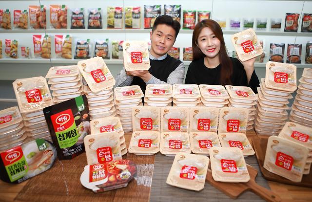 하림, 즉석밥 시장 진출…'순밥' 출시