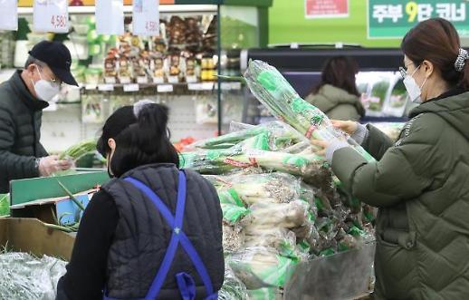 2月韩CPI同比上涨1.1% 气候因素禽流感影响农产品价格暴涨