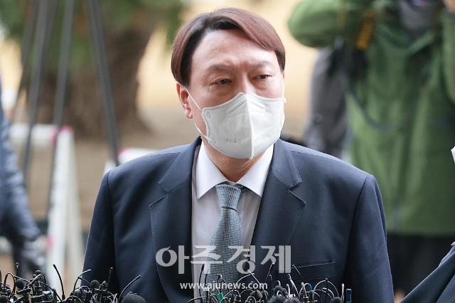 """[전문]윤석열 """"민주·법치주의 지킬 마지막 책무 이행하겠다"""""""