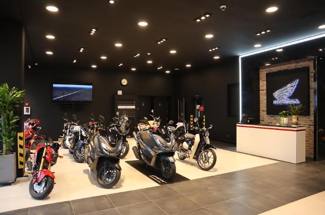 '바이커 모여라' 혼다 모터사이클 인천 리뉴얼 오픈