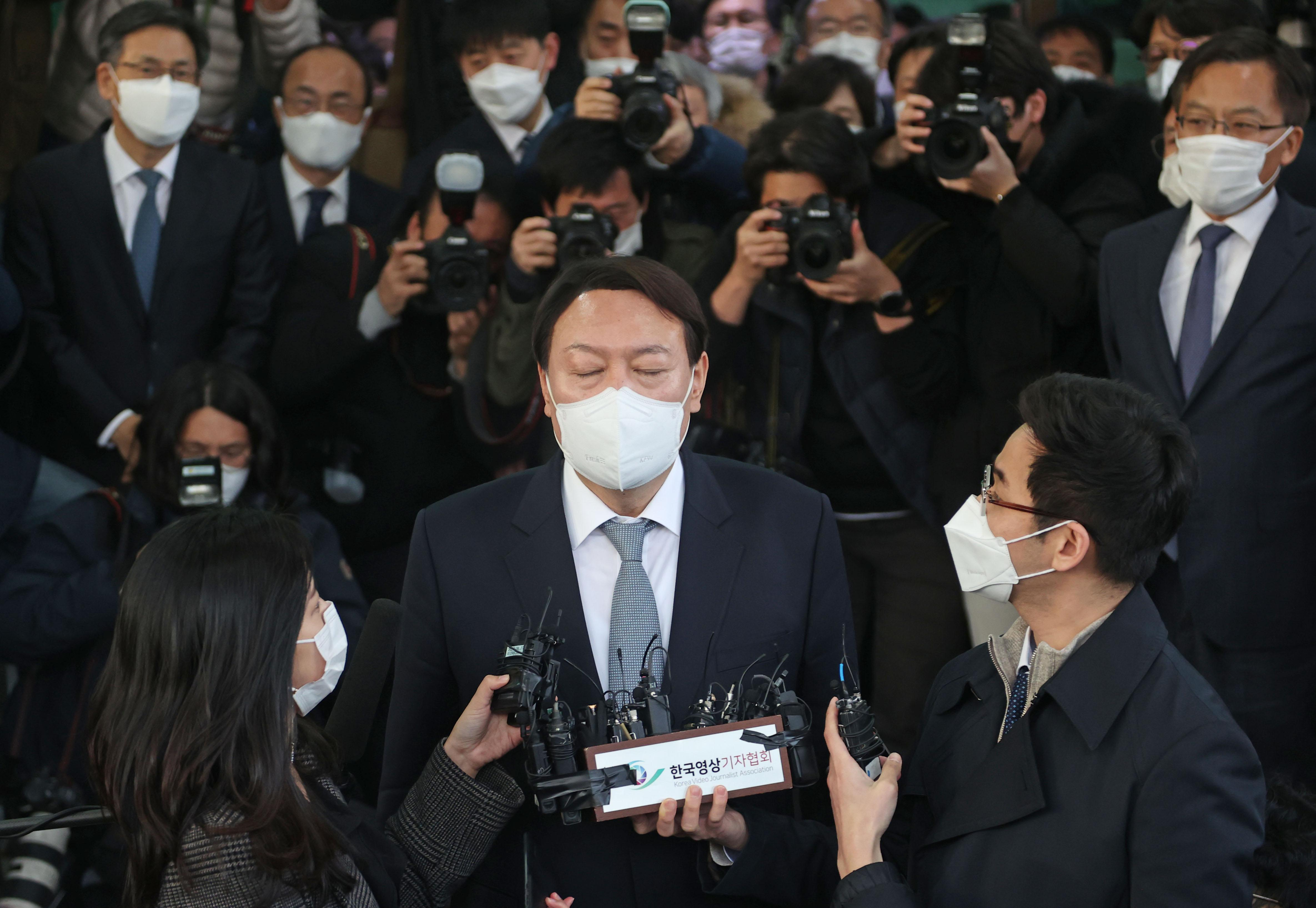 韩检察总长尹锡悦表明辞意