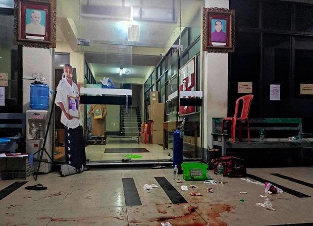 [NNA] 미얀마 군부 포위망 구축 못해... 사망자 50명 넘어