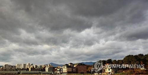[내일 날씨] 전국 구름 많고 흐림...강원·경북 눈 예보