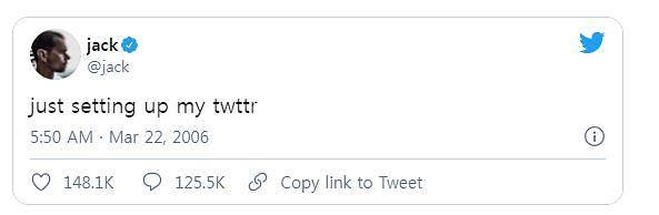 잭 도시의 첫번째 트윗 NFT로 나온다