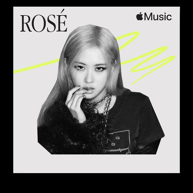 애플, 여성의 날 맞아 블랙핑크 로제의 추천 음악 공개