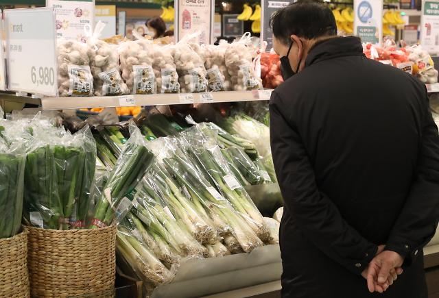 菜篮子压力持续 1月韩国食品物价涨幅居OECD第四