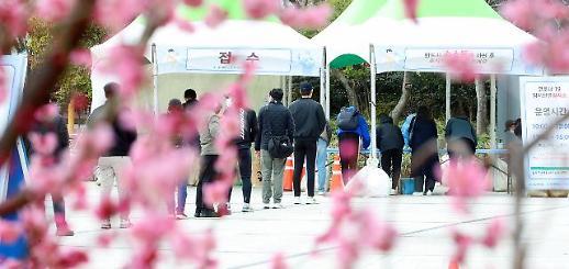 韩国新增346例新冠确诊病例 累计92817例