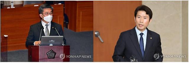 한·미훈련 시작…서욱 국방, 이인영 통일에 판정패