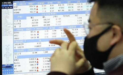 美国债利率上升拉动外资抛售韩股突破3万亿韩元