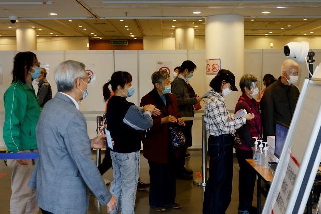홍콩서 중국산 시노백 백신 접종 후 3번째 사망자 발생
