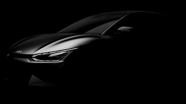 기아 최초 전기차 이름은 EV6...티저 이미지 공개