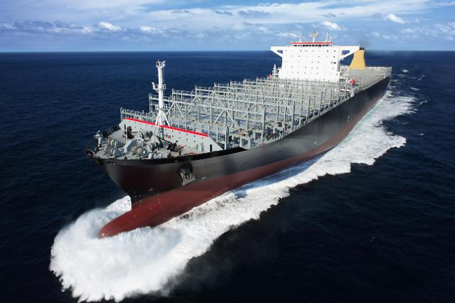 Samsung shipyard wins new order for five LNG-powered container ships