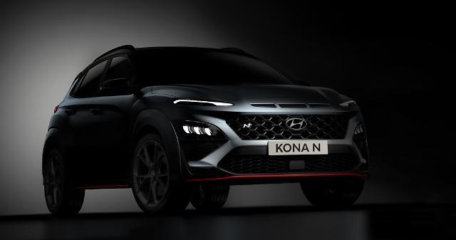 현대차, 고성능 SUV '코나 엔 티저'첫 공개 … N 라인업 확대