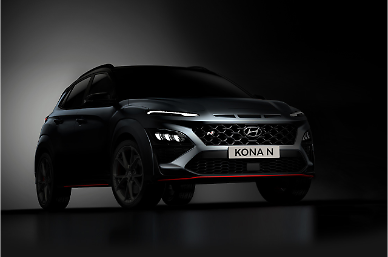Hyundais teaser image shows first SUV of high-performance N brand