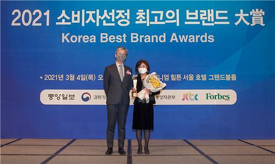 재능교육 '생각하는피자' 8년 연속 브랜드 대상 수상
