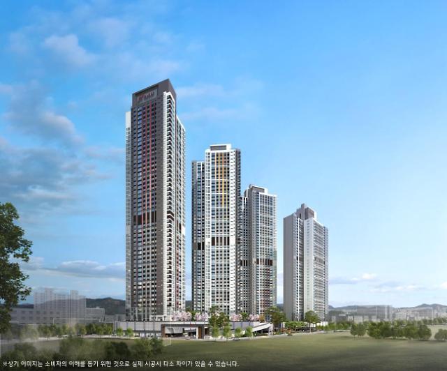 현대건설, 힐스테이트 대명 센트럴 최고경쟁률 12대 1로 마감