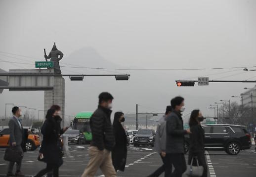 雾霾上班路