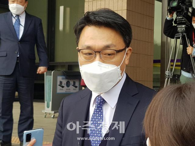 """김진욱 공수처장 """"김학의 사건 수사·기소분리 그대로"""""""
