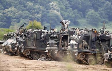 한·미연합훈련, 사라지는 육군 8군단 대비 통합 반격 훈련 실시
