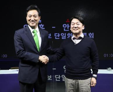 """[4‧7재보선] """"가상 대결로 단일화?""""…김진표-유시민 패배한 방식"""