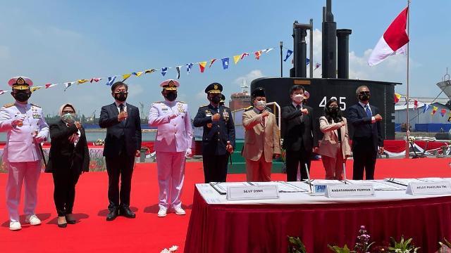 대우조선, 인도네시아 잠수함 3번함 성공적 인도...기술력 재차 인증