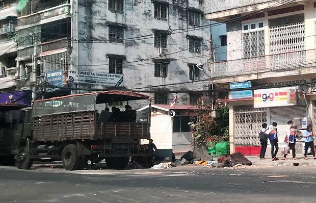 [NNA] 미얀마 쿠데타 이후 사망자, 16일 기준 202명