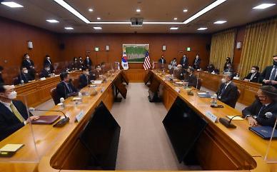 [전문] 한·미 공동성명 북핵 문제 우선 관심사...한·미·일 3국 협력 중요