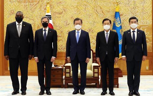 文在寅:韩美将紧密合作实现半岛无核化