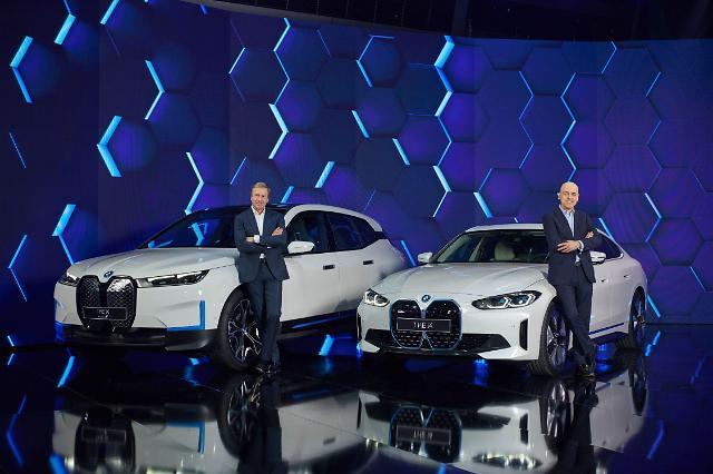 BMW, 전기차 i4 공개…MINI, 2030년초 순수 EV 브랜드화
