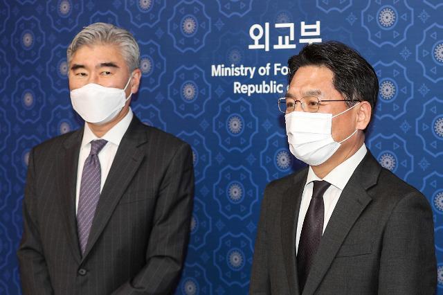 """한·미, 대북정책 실무진 후속 논의...""""대북정책 수립 韓의견 중시"""""""