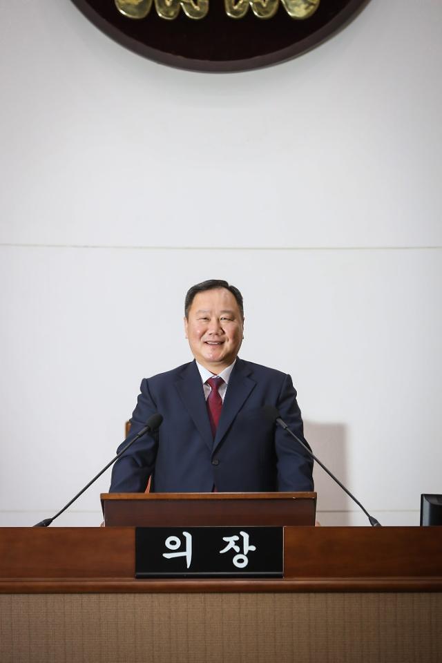 """김인호 서울시의회 의장 """"서울 도약, 보편적 재난지원금에 달려"""""""