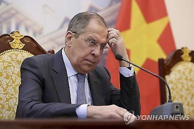 러 외무장관, 중국 찍고 오늘 방한...한반도·국제현안 등 논의