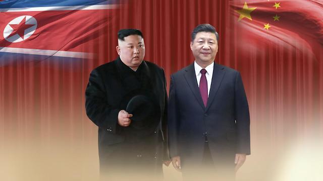 中国国家主席习近平同朝鲜国务委员长金正恩互致口信